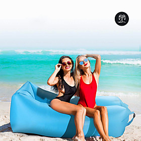 21Grams Air Sofa Inflatable Sofa Sleep lounger Air Bed Outdoor Spring Summer Fall Waterproof Portable Fast Inflatable Design-Ideal Couch Nylon Camping / Hiking