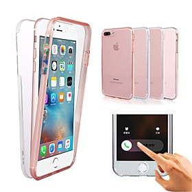 Case For Apple iPhone X / iPhone XS / iPhone XR Shockproof / Transparent Full Body Cases Solid Colored Hard PC for iPhone XS / iPhone XR / iPhone XS Max