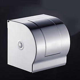 Toilet Paper Holder New Design / Cool Contemporary Stainless Steel / Stainless Steel / Iron 1pc Toilet Paper Holders Wall Mounted
