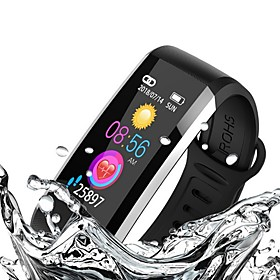 KUPENG WQ6 Smart Bracelet Smartwatch Android iOS Bluetooth GPS Sports Waterproof Heart Rate Monitor Blood Pressure Measurement Pedometer Call Reminder Activity