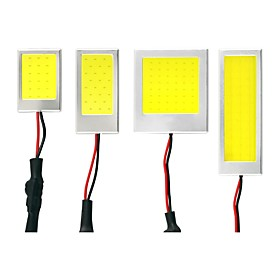 1 Kit Super Light Great Heat Dissipation Big Angle Aging Test Approved 5W Car Roof Reading Light