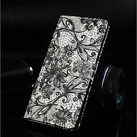 Case For Apple iPhone XR / iPhone XS Max Wallet / Card Holder / with Stand Full Body Cases Lace Printing Hard PU Leather for iPhone XS / iPhone XR / iPhone XS
