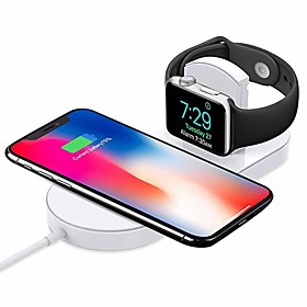 Cwxuan Wireless Charger USB Charger USB with Cable / QC 3.0 / Wireless Charger 1 A DC 9V / DC 5V for iPhone X / iPhone 8 Plus / iPhone 8