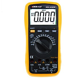 VICTOR VC97 TRMS automatic range overload protection digital multimeter