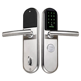 Factory OEM Intelligent Lock Smart Home Security System RFID / Combination unlocking Apartment / Hotel / Office (Unlocking Mode Password / Mechanical key / Car