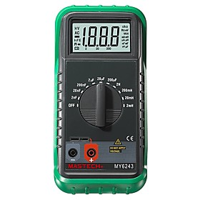 MASTECH MY6243 Digital C/L Inductance 2m/20m/200mH/2H Capacitance Meter 2nF-200uF