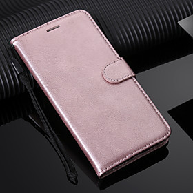 Case For Samsung Galaxy iPhone XS / iPhone XR / S9 Plus Wallet / Card Holder / with Stand Full Body Cases Solid Colored Hard PU Leather for S9 / S9 Plus / S8 P