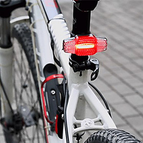 Safety Light - Bike Light Cycling Waterproof, Portable, Dust Proof Rechargeable Li-Ion Battery 100 lm Rechargeable Power Cycling / Bike