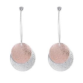 Women's Two-tone Drop Earrings Front Back Earrings / Ear Jacket - Simple, European, Fashion Gold For Causal Daily