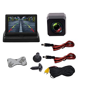 BYNCG 4.3ZD 4.3 inch TFT-LCD 480TVL 480p 1/4 inch color CMOS Wired 120 Degree 1 pcs 120 ° 4.3 inch Rear View Camera / Car Reversing Monitor / Car Rear View Kit
