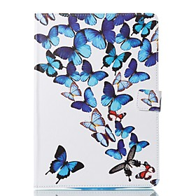 Case For Apple iPad (2018) / iPad Pro 11'' / iPad 4/3/2 Card Holder / with Stand / Flip Full Body Cases Butterfly Hard PU Leather for iPad Air / iPad 4/3/2 / i