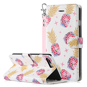 BENTOBEN Case For Apple iPhone 8 Plus / iPhone 7 Plus Wallet / Card Holder / with Stand Full Body Cases Fruit Hard PU Leather / PC for iPhone 8 Plus / iPhone 7