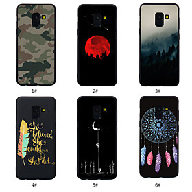 Case For Samsung Galaxy A8 Plus 2018 / A8 2018 Pattern Back Cover Word / Phrase / Scenery / Dream Catcher Soft TPU for A5(2018) / A6 (2018) / A6 (2018)