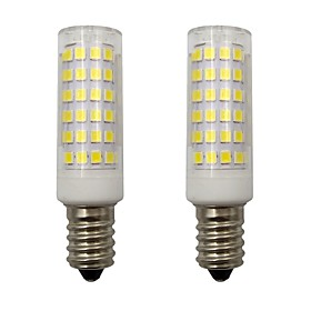 4W Mini E14 LED Corn Lights 2835 SMD 78 LEDs for Home Lighting Chandelier Frigerator AC 220 - 240V Warm / Cold White (2 Pcs)