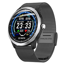 Indear N58 Smart Bracelet Smartwatch Android iOS Bluetooth Sports Waterproof Heart Rate Monitor Blood Pressure Measurement Touch Screen ECGPPG Pedometer Call R