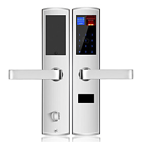 Factory OEM Stainless Steel Intelligent Lock Smart Home Security System Low battery reminder / Anti peeping password / Combination unlocking Home / Office / Ap