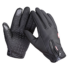 Bike Gloves / Cycling Gloves / Ski Gloves / Touch Gloves Men's / Women's Full finger Gloves Windproof / Waterproof / Keep Warm Canvas / Fleece Ski / Snowboard