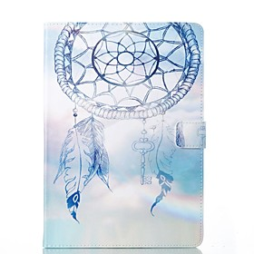 Case For Apple iPad (2018) / iPad Pro 11'' / iPad 4/3/2 Card Holder / with Stand / Flip Full Body Cases Dream Catcher Hard PU Leather for iPad Air / iPad 4/3/2