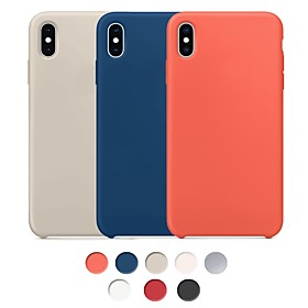 Cooho Case For Apple iPhone X / iPhone XS Max Shockproof / Dustproof / Water Resistant Back Cover Solid Colored Hard Rubber for iPhone XS Max / iPhone X