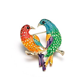 Women's Classic Brooches - Bird Unique Design Brooch Gold For Gift / Evening Party