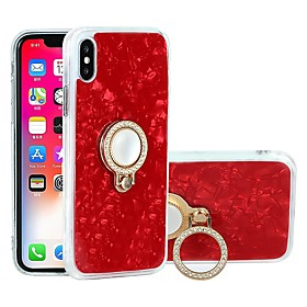 Case For Apple iPhone X / iPhone 6 Shockproof / Dustproof / Water Resistant Back Cover Marble Soft TPU for iPhone X / iPhone 8 Plus / iPhone 8