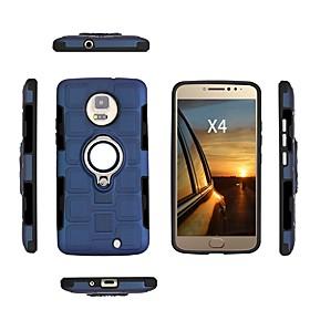 Case For Motorola MOTO E4 Plus / MOTO E4 Shockproof / Dustproof / Water Resistant Back Cover Solid Colored Soft TPU for Moto X4 / Moto E4 Plus / Moto E4