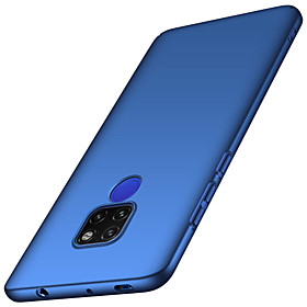 Case For Huawei Huawei Mate 20 Lite / Huawei Mate 20 Pro Frosted Back Cover Solid Colored Hard PC for Mate 10 / Mate 10 pro / Mate 10 lite / Mate 9 Pro