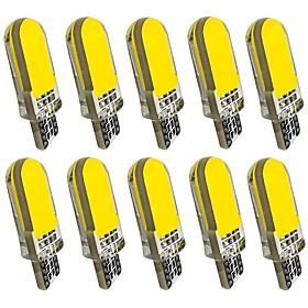 10pcs T10 Car Light Bulbs 2 W COB 60 lm 12 LED Turn Signal Light For General Motors Universal