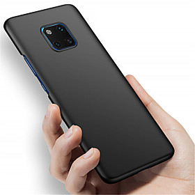 Case For Huawei Huawei Mate 20 Pro / Huawei Mate 20 Frosted Back Cover Solid Colored Hard PC for Mate 10 / Mate 10 pro / Mate 10 lite / Mate 9 Pro