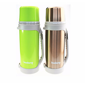 Drinkware Water Bottle / Travel Organizer Steel  Plastic / Stainless Steel / PPABS Heat Retaining Sports  Outdoor / Holiday