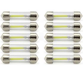 10pcs 41mm Car Light Bulbs 1 W COB 85 lm 1 LED Interior Lights / Exterior Lights For universal Universal / KX5 Universal