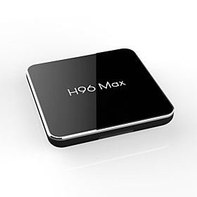 H96 max 4G-32G TV Box Android 8.1 TV Box Amlogic S905X2 4GB RAM 32GB ROM Quad Core New Design
