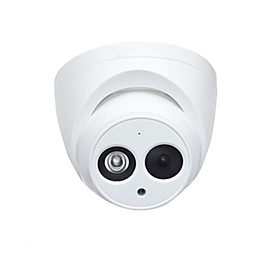 Dahua IPC-HDW4433C-A 4MP PoE IP Dome Camera with Night Vision H.265 and Built-in Mic for Outdoor and Indoor