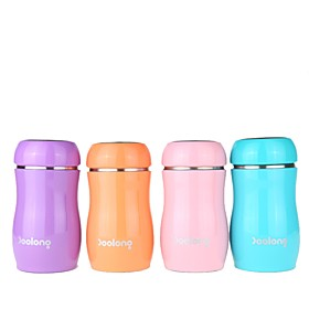 Drinkware Vacuum Cup Steel  Plastic / Stainless Steel / PPABS Portable / Mini / Heat Retaining Office / Career / Casual / Daily