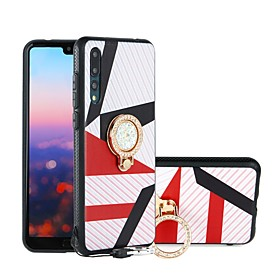 Case For Huawei P20 / P20 lite Shockproof / Dustproof / Water Resistant Back Cover Geometric Pattern Soft TPU for Huawei P20 / Huawei P20 Pro / Huawei P20 lite