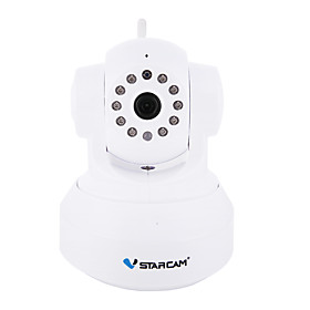 VSTARCAM C7837WIP 720P 1.0MP Wi-Fi Security Surveillance IP Camera (Night Vision P2P Support 128GB TF Card)