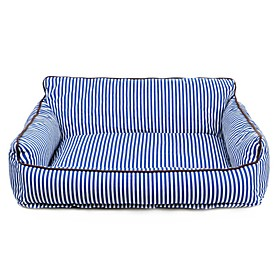 Dogs / Cats Bed Pet Mats  Pads Stripe Portable / Keep Warm / Soft Red / Blue For Pets