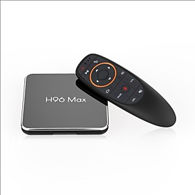 H96 max TV Box Android 8.1 TV Box Amlogic S905X2 4GB RAM 4GB ROM Quad Core New Design