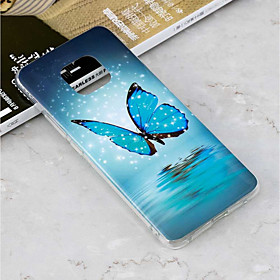 Case For Huawei Huawei Mate 20 Lite / Huawei Mate 20 Pro Glow in the Dark / Pattern Back Cover Butterfly Soft TPU for Mate 10 pro / Mate 10 lite / Huawei Mate