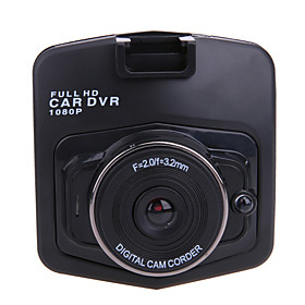 M001 HD 1280 x 720 / 1080p Car DVR 120 Degree / 140 Degree Wide Angle 2.4 inch LCD Dash Cam with Night Vision / G-Sensor / motion / WDR