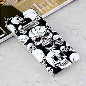 Case For Huawei Huawei Mate 20 Lite / Huawei Mate 20 Pro Glow in the Dark / Pattern Back Cover Skull Soft TPU for Mate 10 pro / Mate 10 lite / Huawei Mate 20 l