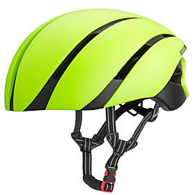 ROCKBROS Adults' Bike Helmet 8 Vents ESPPC Sports Cycling / Bike - Black / Red / Champagne / Blue / Black Men's