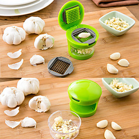 1pc Kitchen Tools Stainless Steel  Plastic Tools / Creative Kitchen Gadget Tools / Garlic Tool Garlic