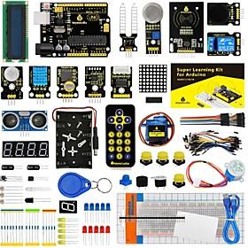 Keyestudio Super Starter kit/Learning Kit(UNO R3) for arduino Starter kit with 32 Projects 1602 LCD