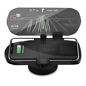 ZIQIAO Universal Wireless Charger Navigation Bracket HUD Head Up Display