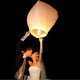 10Pcs/Set Multi Color High Quality Chinese Lantern Fire Sky Fly Candle Lamp For Birthday Wedding Party Lantern Wish Lamp Sky Lanterns
