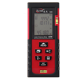 40m LCD Digital Laser Distance Meter Range Finder Diastimeter Construct  Measuring Tool