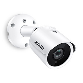 ZOSI IP Camera PoE 4MP Super HD Outdoor/Indoor Waterproof Infrared Night Vision ONVIF Security Video Surveillance