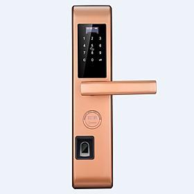 Factory OEM Stainless Steel lock / Intelligent Lock Smart Home Security System RFID / Fingerprint unlocking / Password unlocking Apartment / School / Hotel Sec