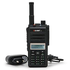 ELIDA CD880 2G 3G GSM WCDMA WIFI Walkie Talkie With Sim Card GPS positioning Two Way Radio Network Radio Walkie Talkie 200 km